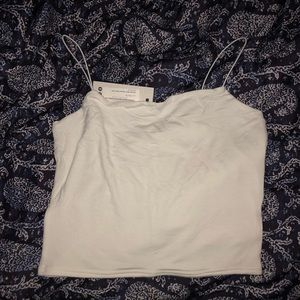 SQUARE NECK CROPPED CAMI! NWT